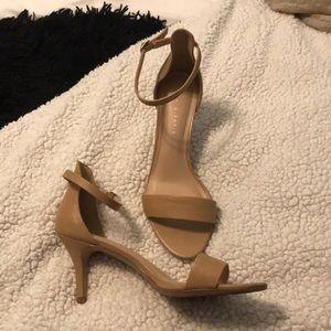 Kelly & Katie Shoes - Tan heels